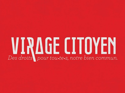 Virage Citoyen logotype logotype citoyen virage