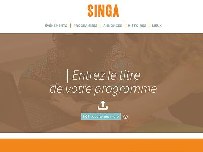 Singa interface design refugees mobile singa interface