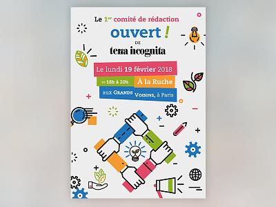 Terra Incognita poster design poster