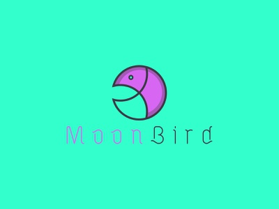 Logo Mark Moon Bird icons brand icon moon logo moonbird icondesign logodesign abstract businesslogo branding brandidentity minimal branding design minimalist logo appicon
