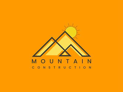 Logo Identity Mountain mountains mountain logo minimalsit minimalsity mnimal logodesign abstract businesslogo branding logo brandidentity minimal branding design minimalist appicon
