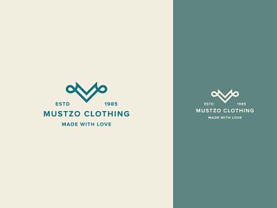 Logo Identity Mustzo Clothing logodesigner logo design branding logo designer logos logotype branding abstract minimal minimalist branding design appicon logo mark professional logodesign logodesign logo