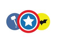 30 Superhero Icons bundle