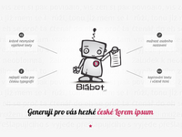 Blabot - Czech Lorem ipsum