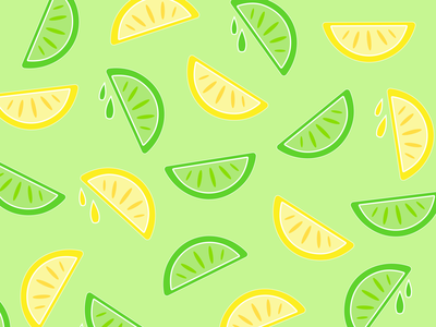 Custom Pattern - Margarita graphic design vector illustrator illustration art minimal logo icon design branding