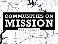 Sermon Branding - Philippians: Communities on Mission
