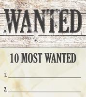 20120106   Wanted Evangelism Bookmark