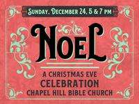 2017 Christmas Eve Branding - NOEL