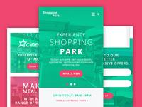 Shopping Park Mobile Website