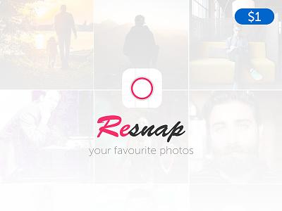 iOS Photo Editor App Design camera app photo app images picture snap photos photo editor