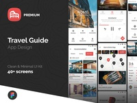 Travel Guide App Design UI Kit
