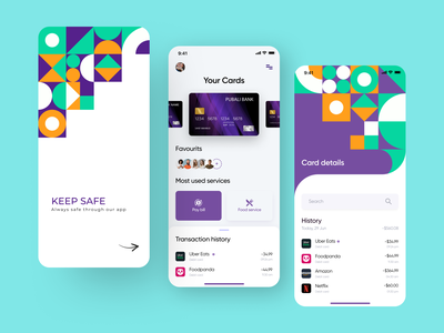 Finance app UI design concept user experience creative ui graphic design mobile banking online banking credit card minimalistic financial finance app money transfer finance app money app ux ui user interface mobile app app design ui design interface design