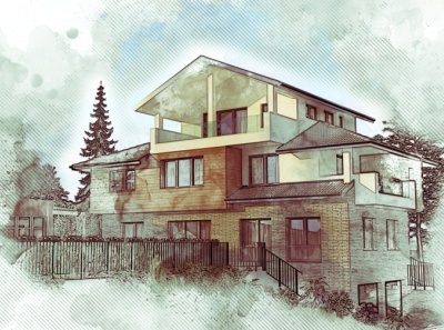 A house ... architecture design 3d design architecture
