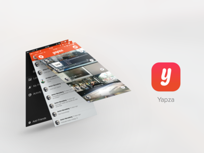 Yapza - Awesome way to keep touch with your close friends