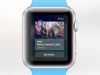 GateMe - Apple watch concept