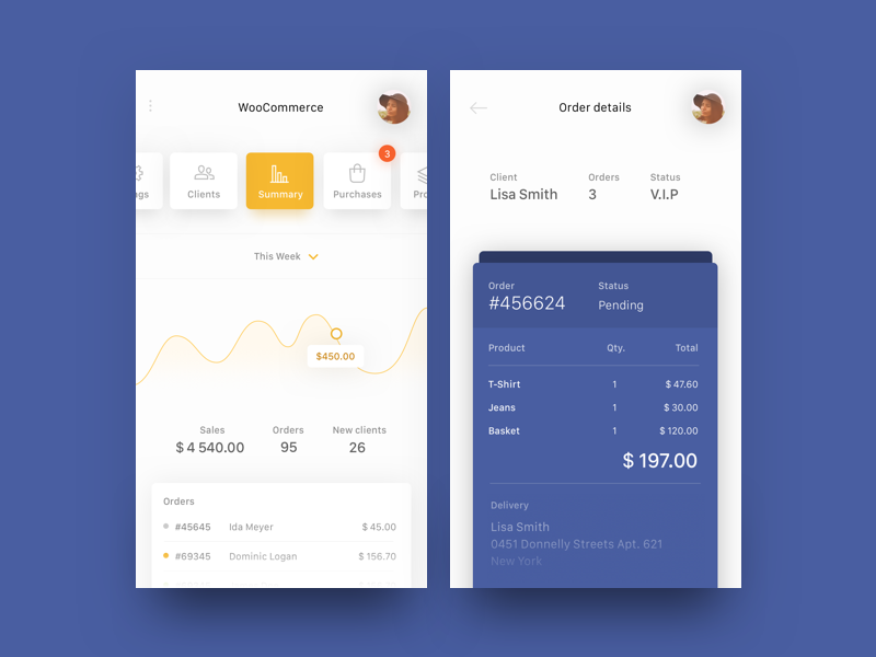 WooCommerce app concept (Freebie) e-commerce daily ui freebie sketch sketchapp mobile ui simple clean ios app woocommerce