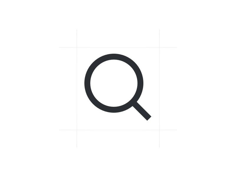 Sharp Edges Search Icon By Samuel Kantala