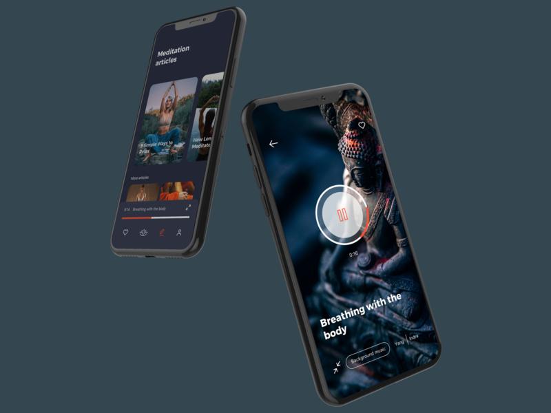 Namaste - Meditation App Template
