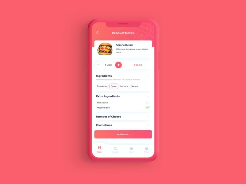 Salt - Food Order App UI Kit