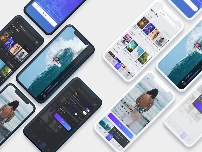 Frigo Video App UI Kit