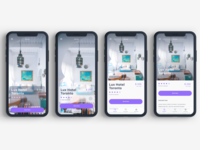 Rooms Hotel Booking App UI Kit
