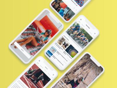 Nev - News App UI Kit