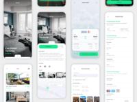 Vesta Travel Booking App UI Kit