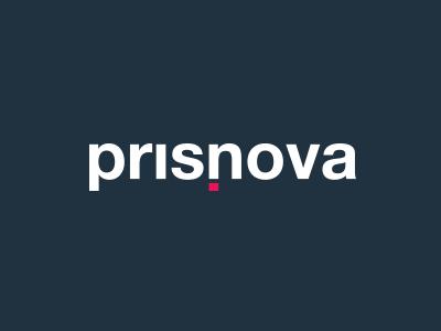 Prisnova Logo logo flat helvetica typography