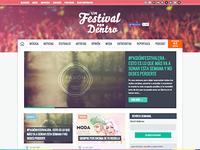 Un Festival por Dentro web