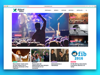 Un Festival por Dentro Website Redesign