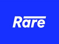 Rare Logo minimal flat logo