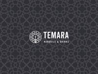Temara Logo typography branding vector clean logo