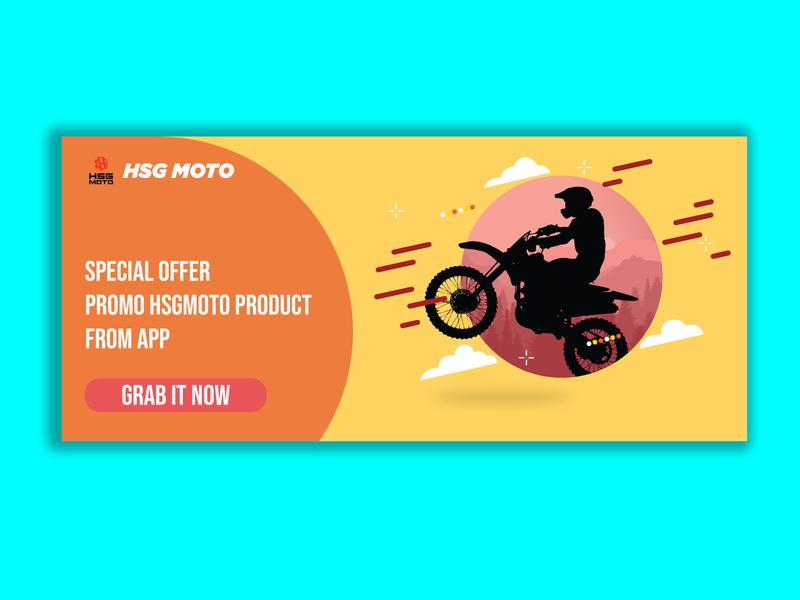 banner promotion flat banner design banner vector typography ui design illustration design branding