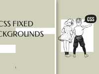Css Fixed Backgrounds