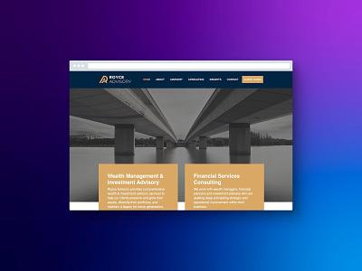 Royce Advisory design web