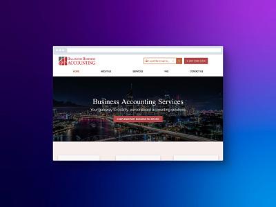 Balanced Business Accounting web design