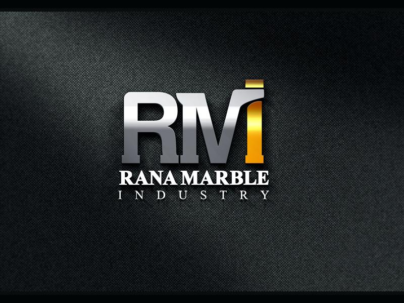 3d Mockup Logo RMI 3d logo logo design 3d mockup