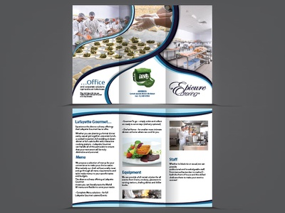 TriFold Brochure layout graphic branding brochure trifold