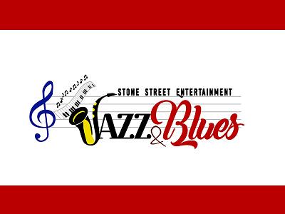 Jazz Blue Logo vector design music logo vector logo jazz logo