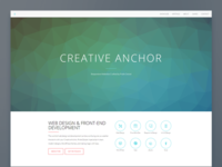 Creative Anchor Homepage