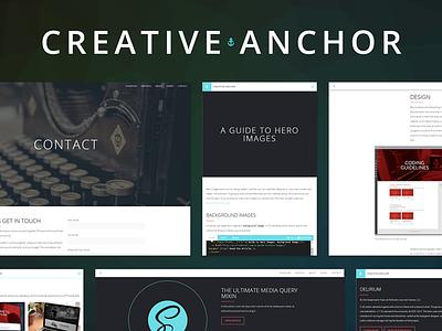 Creative Anchor Layouts web design portfolio web design portfolio