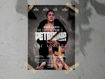 Petrunya - Movie poster design movie poster