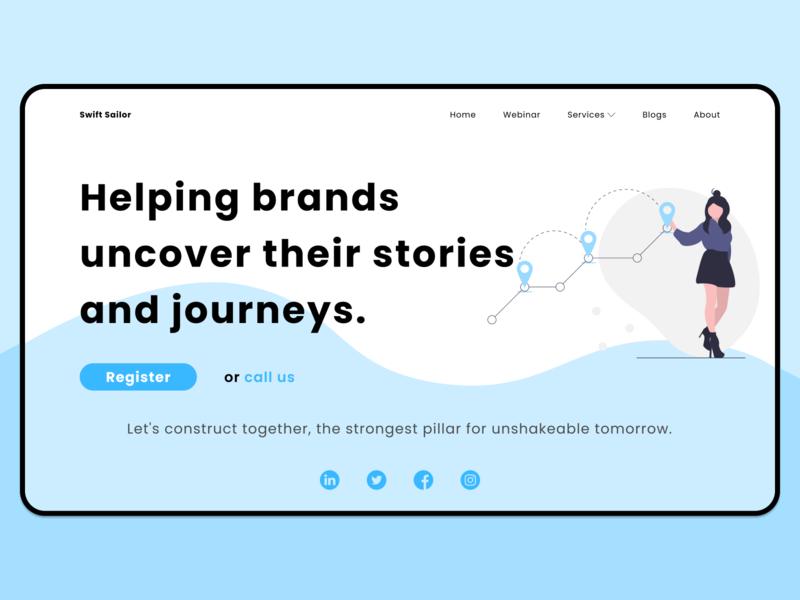 Swift Salor Redesign Concept redesign webdesigner web ui figma concept design webdesign concept uidesign design