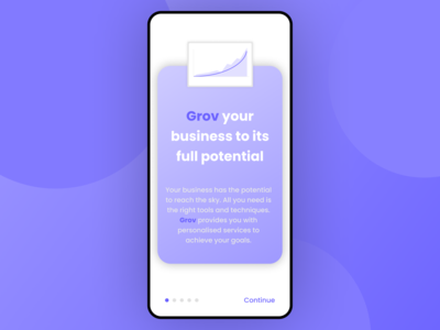 Grov Concept app design app ui ui designer ui design splash screen splashscreen mobile mobile app mobile ui app ui figma concept design concept design uidesign
