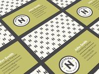 Novaturient Business Card Concept