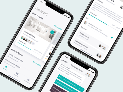 Project Mangement App 📱 ZipApp user experience interaction tabbar menu intergrations chat ios modern mangement design cards ui minimal interface application app design ux ui app