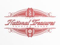 Retro Baseball Trading Card Branding