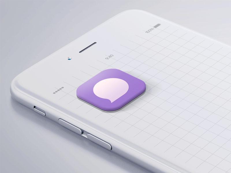 GumChat App Icon by Roberto Torres on Dribbble