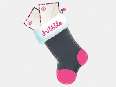 Dribbble stocking