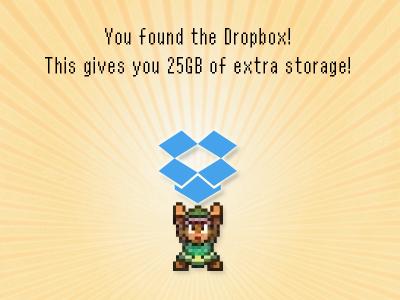 Extra Storage dropbox playoff link zelda pixel